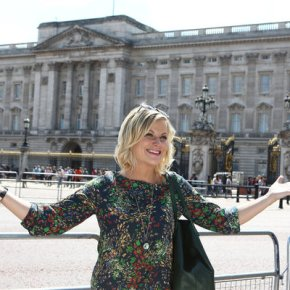 "PARKS AND RECREATION -- ""London"" Episode 601/602 -- Pictured: Amy Poehler as Leslie Knope -- (Photo by: Tim Whitby/NBC)"