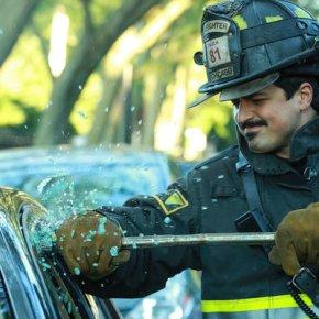 """CHICAGO FIRE -- """"A Problem House"""" Episode 201 -- Pictured: Yuri Sardarov as Brian """"Otis"""" Zvonecek -- (Photo by: Elizabeth Morris/NBC)"""