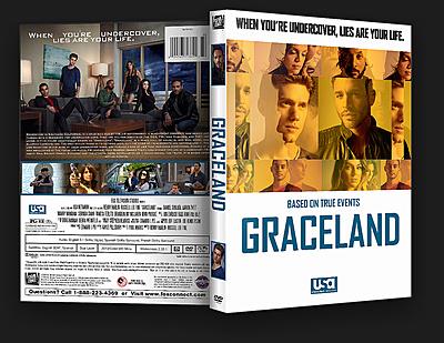 Graceland (2013) Season 1 DVD Cover