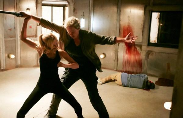 """BITTEN --  """"Dead Meat"""" Episode 204 -- Pictured: Laura Vandevoort as Elena Michaels -- (Photo by: Ian Watson/She-Wolf Season 2 Productions Inc.)"""