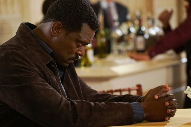 "CHICAGO FIRE--  ""Sharp Elbows"" Episode 407 -- Pictured: Eamonn Walker as Wallace Boden -- (Photo by: Elizabeth Morris/NBC)"