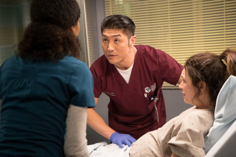 """CHICAGO MED -- """"Inheritance"""" Episode 115 -- Pictured: Brian Tee as Ethan Choi -- (Photo by: Elizabeth Sisson/NBC)"""