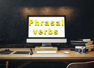 Most commonly used phrasal verbs