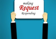 Making and responding to request