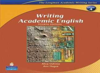 writing academic english 4th edition