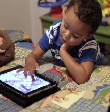 Children and electronics