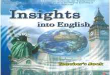 Insights into English teacher book