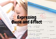 expressing cause and effect