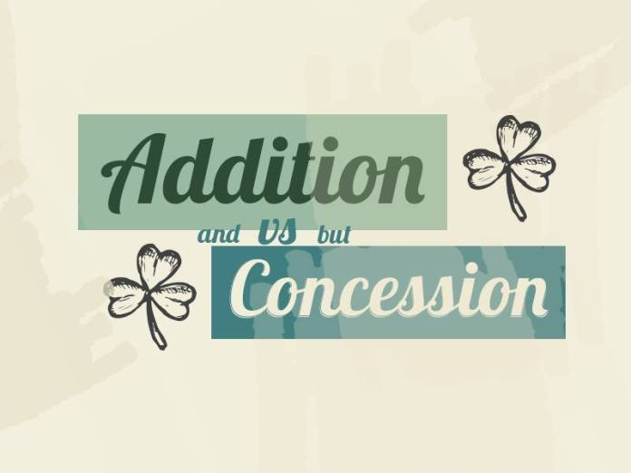Addition and Concession Linking Words
