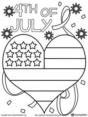 united states of america flag coloring page myteachingstation com