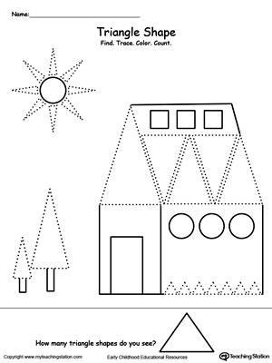 Kindergarten Art And Colors Printable Worksheets