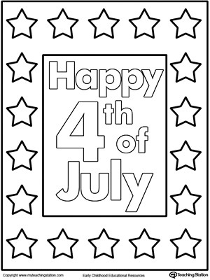 4th of july heart flag coloring page myteachingstation com