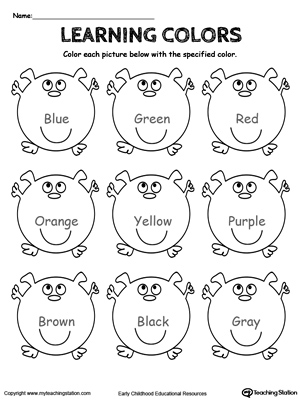 red color coloring pages red color worksheets colouring pages