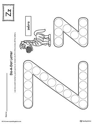 Image Result For Worksheet For Kindergarten Letter Z