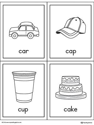 Letter C Beginning Sound Picture Match Worksheet