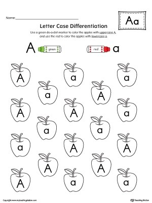 Image Result For Kindergarten Worksheets Alphabet Recognition