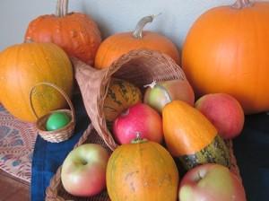 Easter & pumpkins