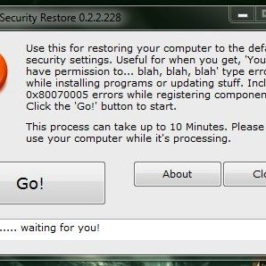security-restore