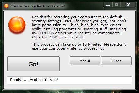 security-restore
