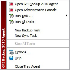 GFI Backup - System Tray Agent