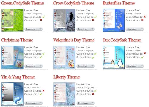 codysafe themes