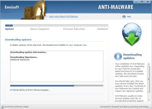emsisoft anti-malware configuration wizard