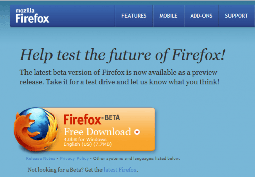 Firefox4b8