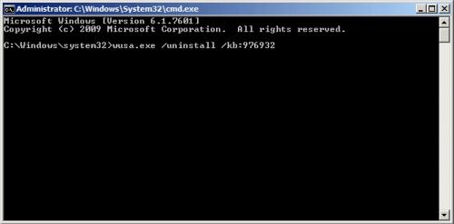 wusa.exe /uninstall /kb:976932