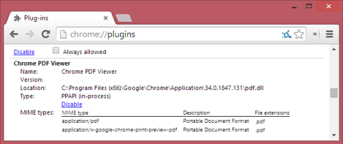disable-google-chrome-pdf-plugin