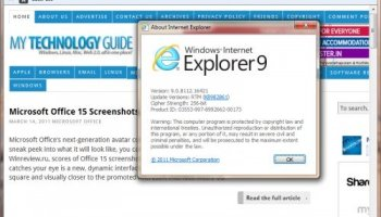Download Internet Explorer 11 (IE11) Release Preview for