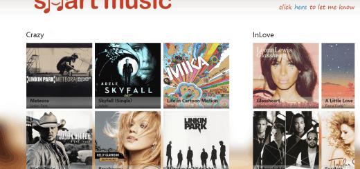 Smart Music app