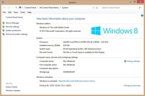 change windows product key