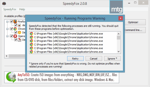 speedyfox-review-program-running-warning