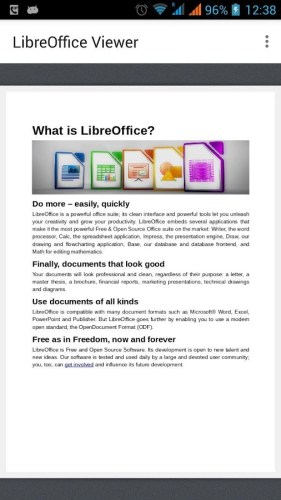 LibreOffice Viewer for Android