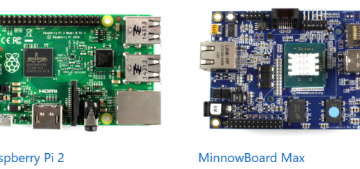 Windows 10 IoT Core supported development boards