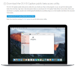 How to Install Mac OS X 10.11.4 El Capitan Public Beta