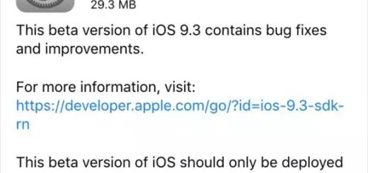 Install iOS 9.3 Public Beta