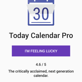 Promo Code App - Tap on I'm Feeling Lucky