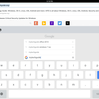 Search Google from your Keyboard