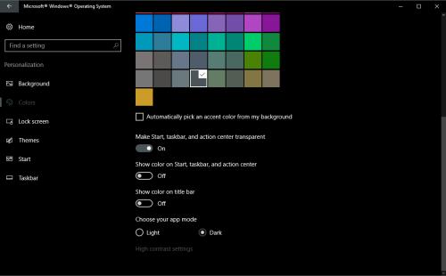 Get a more consistent Dark mode in Windows 10