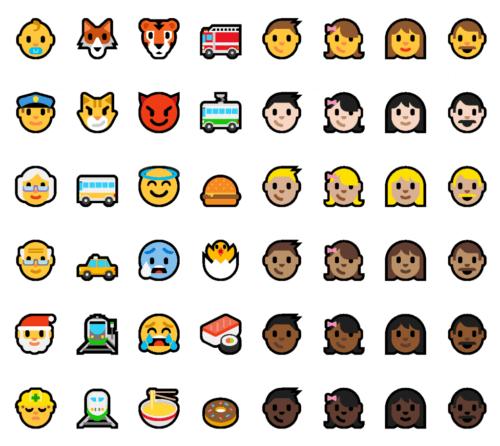 Windows 10 Anniversary Update Emoji