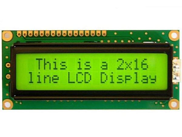 16x2 LCD Display Arduino 16x2 162 2x16 Alphanumeric Display(JHD162A) MY TechnoCare www.mytechnocare.com