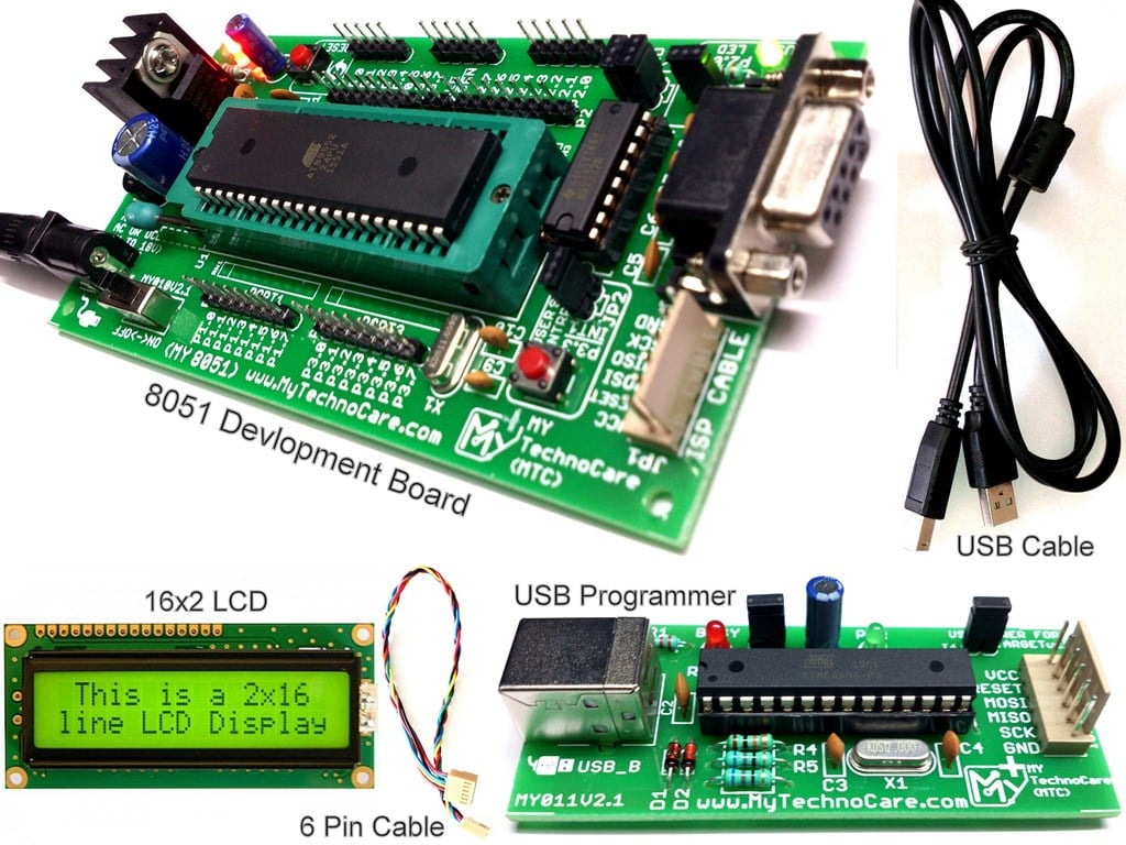 Learn how to program avr 8051 ic16x2 lcd displayfree usb cable how to programmer 8051 microcontroller chip 89s52 board interfaceing 16x2 lcd usb programmer low price at89s52 ccuart Gallery