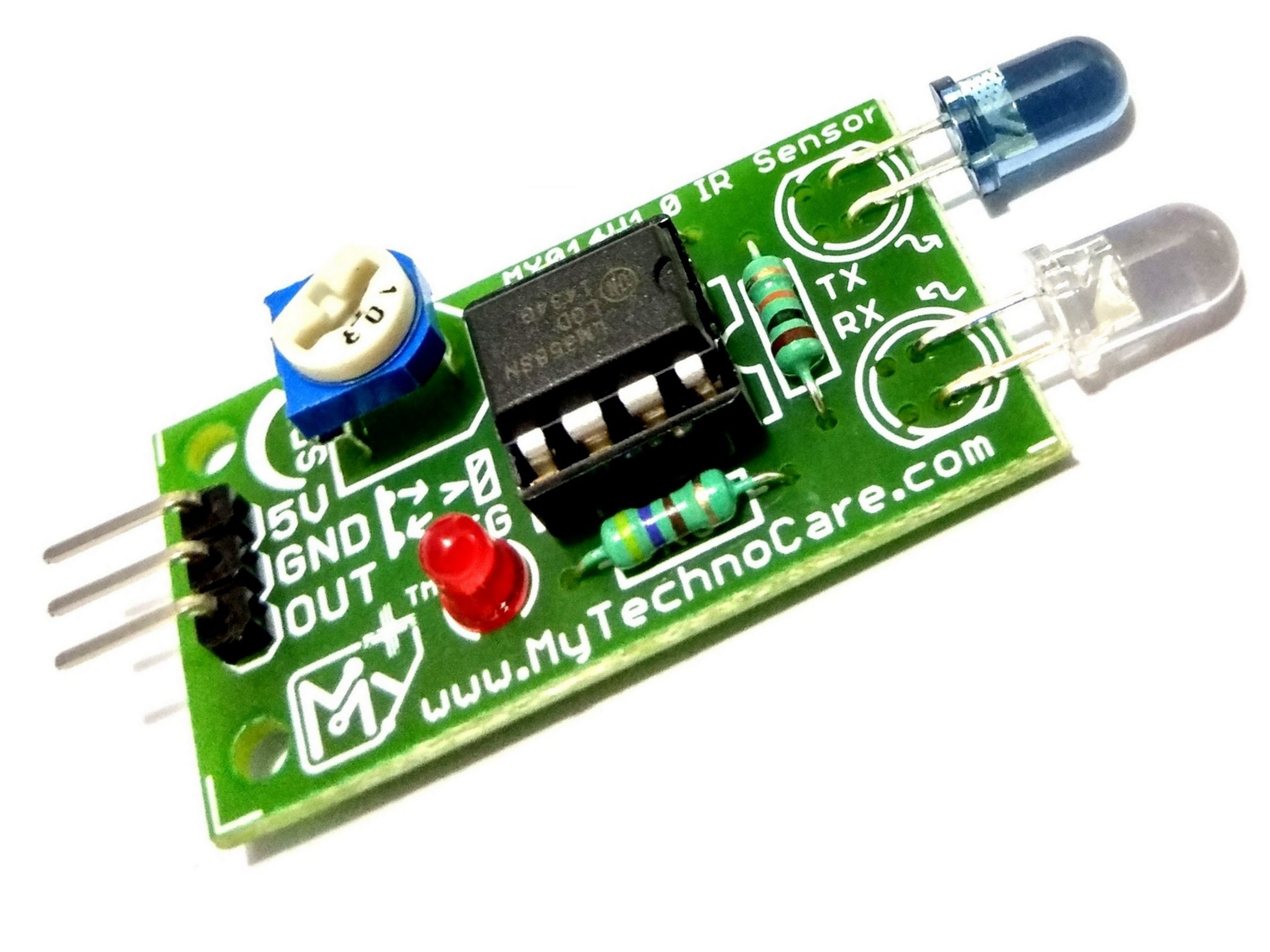 Ir Infrared Obstacle Detection Sensor Circuit