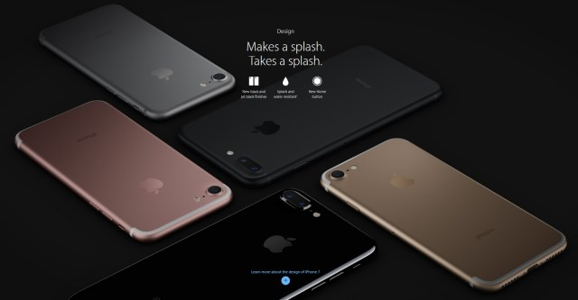 iphone 7 finiture