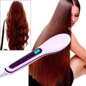 Electric Hair Straightening Brush