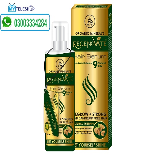 Regenovate Hair Serum Oil
