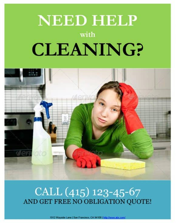 CARPET CLEANING FLYERS BROSUR
