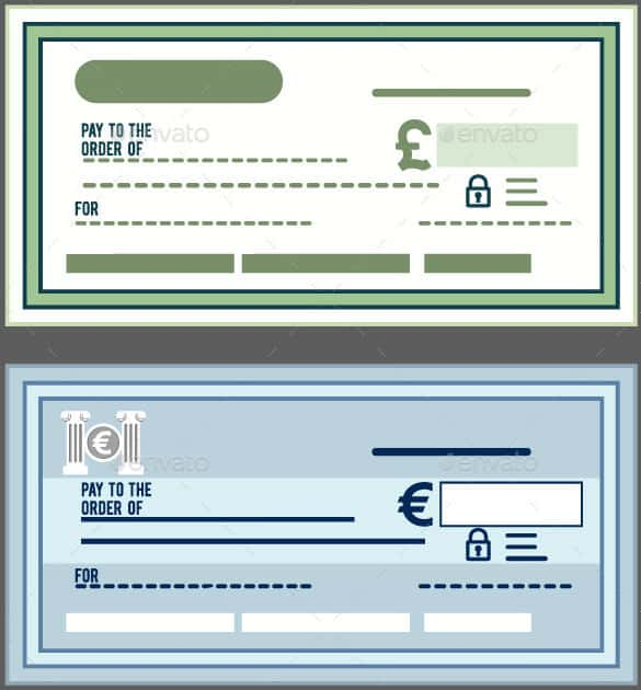 Download Blank Check in Vector EPS Format