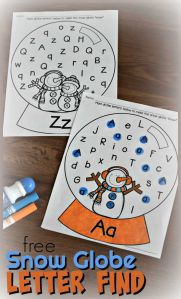 Alphabet Worksheets Christmas Of Free Snow Globe Letter Find these Free Printable Alphabet Worksheets Help Kids Have Fun Making It Snow as they Practice Identifying Uppercase and Lowercase with This Winter themed Alphabet Worksheets Wintertheme Snowman Alphabetworksheets Letterfind Preschool Kindergaten Kindergartenworksheets Preschoolworksheets